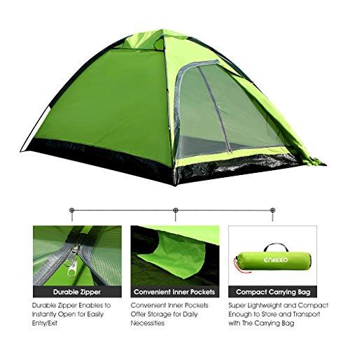 Enkeeo-2-Person-C&ing-Tent-Ultralight-Backpacking-Tents-  sc 1 st  Backpacking Mall & Enkeeo 2 Person Camping Tent Ultralight Backpacking Tents with ...