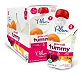 Plum Organics Baby Grow Well Food, Prune/Pear/Peach/Pumpkin with Chia Puree, 3.5 Ounce (Pack of 12)