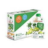 Happy Baby Organic Stage 2 Baby Food, Simple Combos, Broccoli, Pears & Peas, 4 Ounce (Pack of 16)