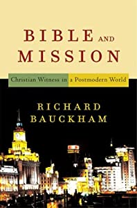 """Cover of """"Bible and Mission: Christian Wi..."""