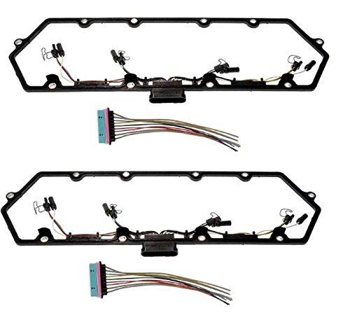 Pair 97-03 Powerstroke 7.3L Valve Cover Gasket w/Fuel