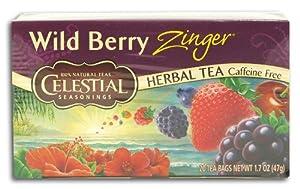 Amazoncom Celestial Seasonings Wild Berry Zinger Tea