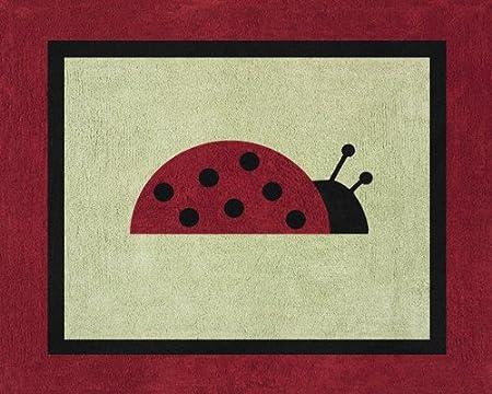 Ladybug Parade Accent Floor Rug