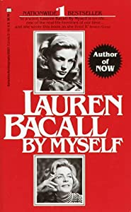 "Cover of ""Lauren Bacall: By Myself"""