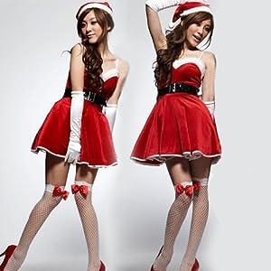 サンタクロース衣装yapy033/コスプレ