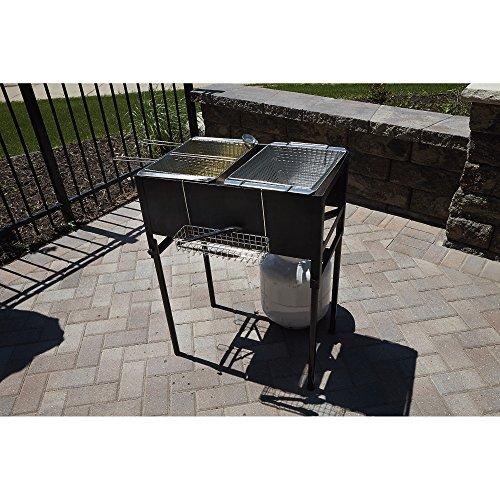 kitchener triple basket deep fryer kitchen banquette furniture small appliance direct