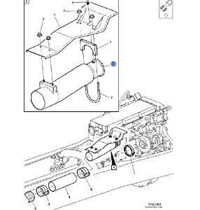 Amazon.com: Volvo Truck Pipe Turbo Outlet for Cummins ISX