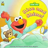 Elmo Rise And Shine (Golden Super Shape Book)