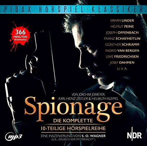 Pidax Hörspiel-Klassiker - Spionage (Karl Heinz Zeitler / Joachim Jomeyer / Helmuth Kleffel) NDR 1959