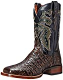 Dan Post Men's Everglades SQ Western Boot, Brown, 10 XW US