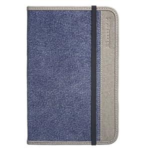 Snugg Denim Case Cover for the Amazon Kindle 3 e-reader - Blue Denim
