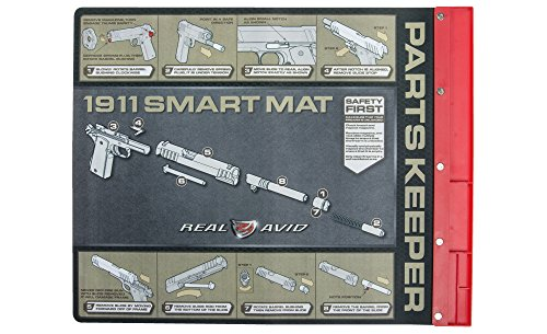 Real Avid 1911 Smart Mat 19 Inch By 16 Inch Gun Cleaning Mat With