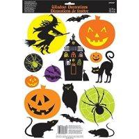 Amazon.com: Halloween Window Decorations Window Cling (1 ...