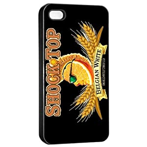 Shock Top Belgian Beer Logo iPhone 4/4s black hard case from amazon