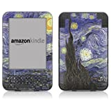 "DecalGirl Protective Kindle Skin (Fits 6"" Display, Latest Generation Kindle) Van Gogh - Starry Night (Matte Finish)"