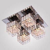 Crystal Ceiling Light ANNT lighting Modern Fixture Flush ...