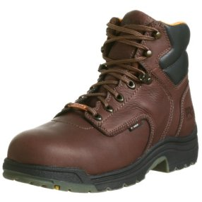 "Timberland PRO Men's 26078 Titan 6"" Waterproof Safety-Toe Work Boot,Dark Mocha,12 M"