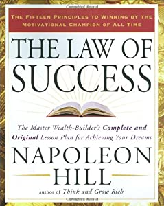 "Cover of ""The Law of Success: The Master ..."