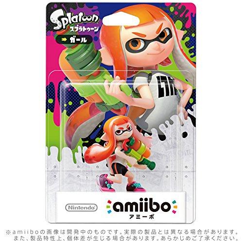 amiibo ガール(スプラトゥーンシリーズ)