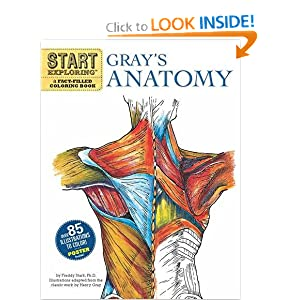 Start Exploring: Gray's Anatomy: A Fact-Filled Coloring Book