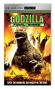 """Cover of """"Godzilla: Final Wars [UMD for P..."""