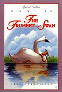"Cover of ""The Trumpet of the Swan (full c..."