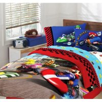 Amazon.com - Super Mario Brothers Full Comforter & Sheet ...