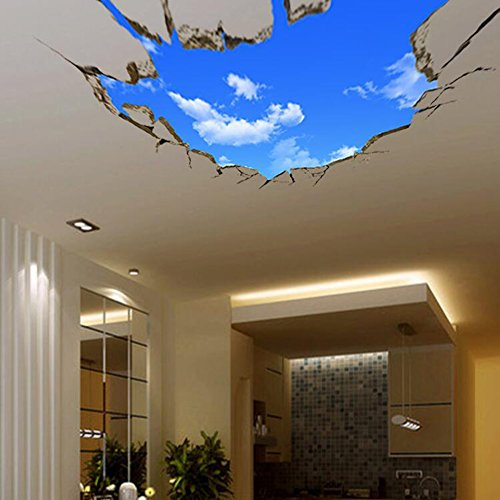 Sajanic Creative 3D Wall Stickers Blue Sky For Ceiling Real Feeling Suit  For Bedroom Living Room Nursery Kids Room Wall Decoration U2013 Gift Ideas For  Your ... Part 59