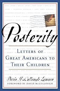 "Cover of ""Posterity: Letters of Great Ame..."