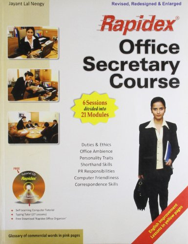 Set-Rapidex Office Secretary Course (With CD) (RX)