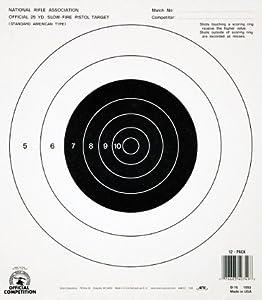 Amazon.com : Champion GB-16 25-yard Pistol Slow Fire NRA