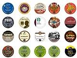 Crazy Cups Sleepless Nights Gift Pack, Single-cup coffee pack sampler for Keurig K-Cup Brewers (Pack of 20)