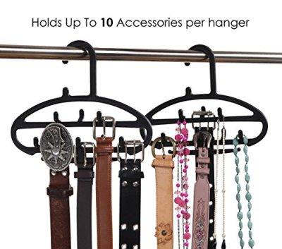 hanging belt organizer