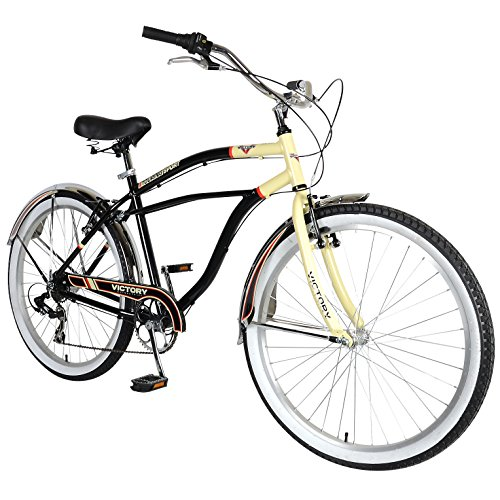 Victory Touring 726M Cruiser Bike, 26 inch Wheels, 19 inch
