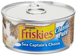 Amazoncom Friskies Cat Food Classic Pate Sea Captain39s
