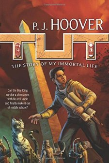 Tut: The Story of My Immortal Life by P. J. Hoover| wearewordnerds.com
