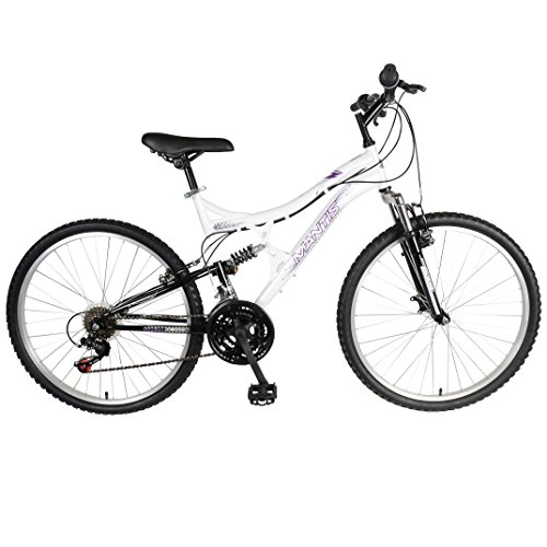 Mantis Orchid Full Suspension Women's Mountain Bike, 26 inch Wheels