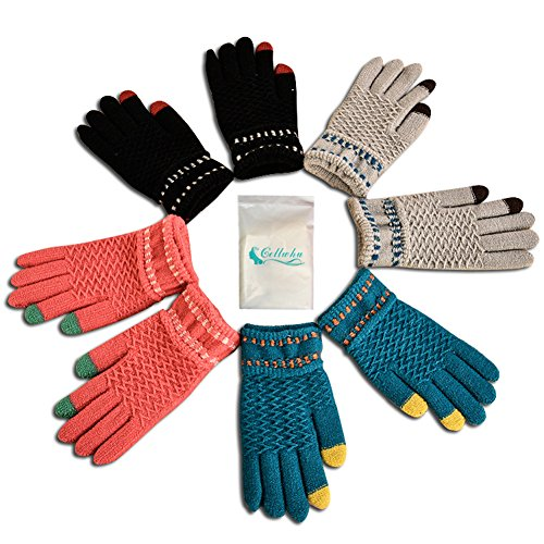 top 5 best winter gloves pack for women for sale 2016 giftvacations. Black Bedroom Furniture Sets. Home Design Ideas
