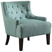 Amazon.com: Homelegance 1233TL Tufted Fabric Accent Chair ...