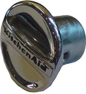 KitchenAid Mixer CapHubGear Attachment Cover Chrome