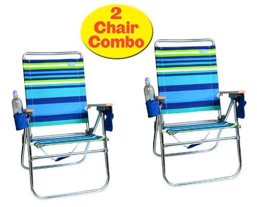 beach lawn chairs jazzy elite power chair rio 4 position easy in out sit higher off the features sand with this 17 high 642 2 1302 stripe