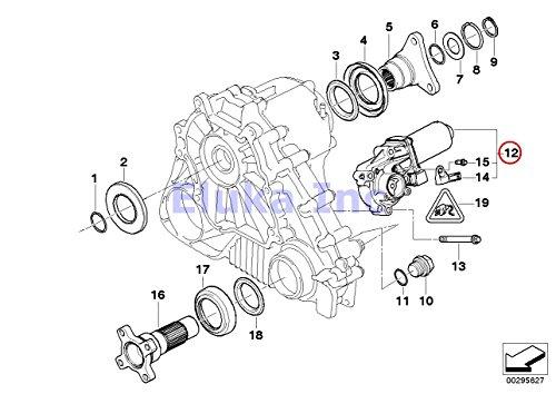 BMW Transfer Case Motor (Actuator) X5 3.0i X5 4.4i X5 4