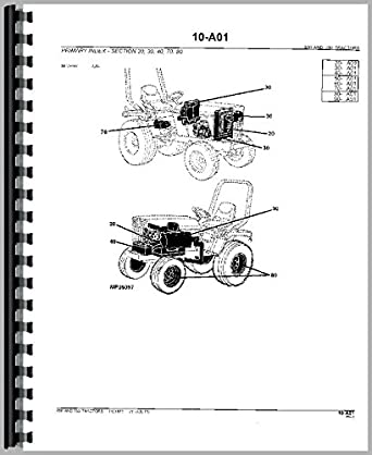John Deere 650 Tractor Parts Manual: Amazon.com