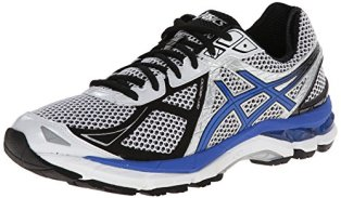 ASICS Men's Gt-2000 3 Running Shoe,White/Royal/Black,10 M US