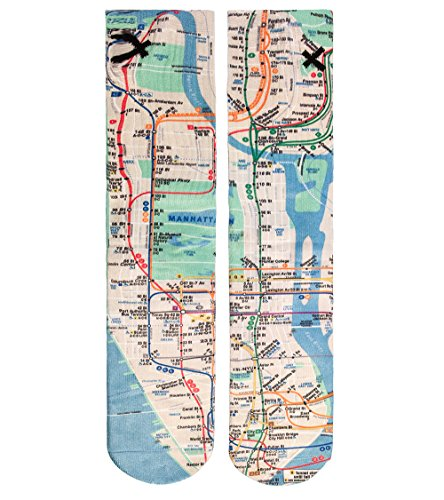 Odd Sox Subway Sock Multi-Color Osfa