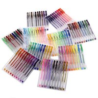 Best Gel Pens for Adult Coloring Books Dark Edition Set ...