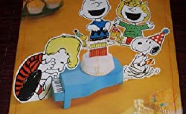 Amazon Hallmark Peanuts Gang Happy Birthday