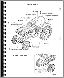 Satoh S370D Tractor Parts Manual: Satoh Manuals