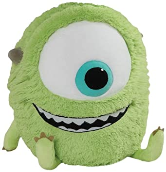 Pillow Pets Monsters Inc 18-Inch Square Pillow