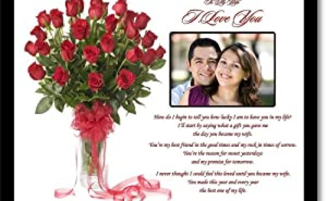 Amazon I Love You Gift For Wife Romantic Gift From